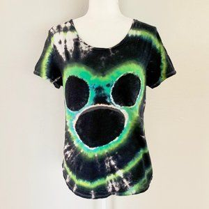 Old Navy Galactic Mickey Mouse Tie Dye Tee Shirt